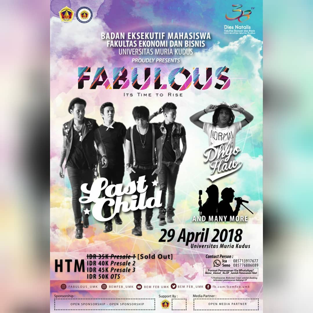 Event Kudus Fabulous 2018