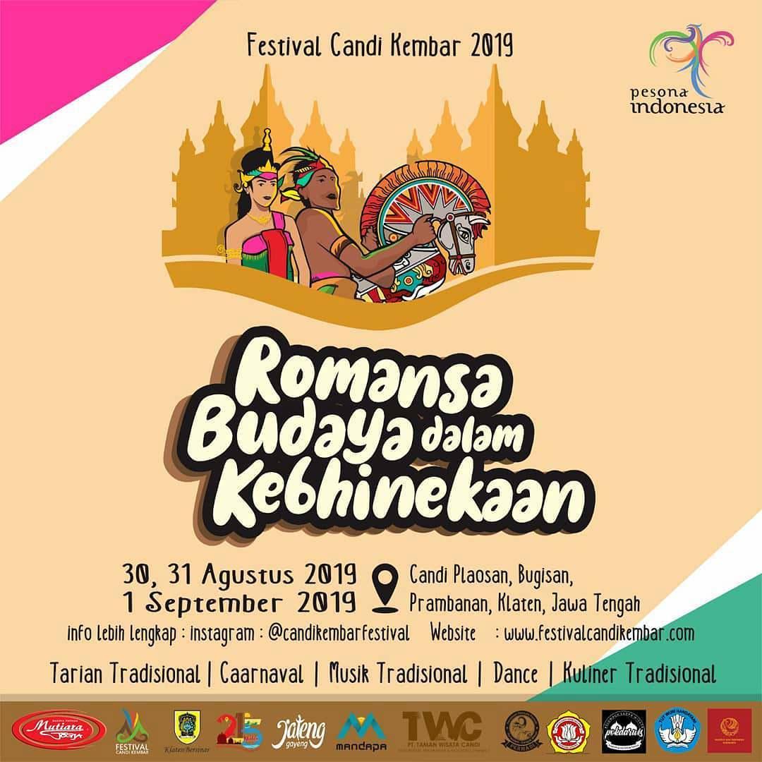 Festival Candi Kembar 2019, Romansa Budaya Dalam Kebhinekaan