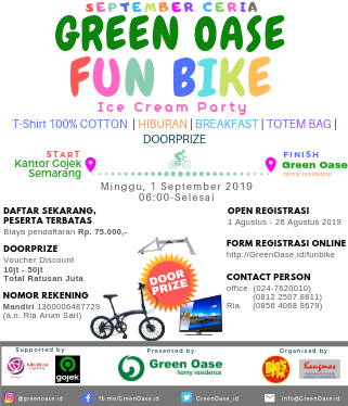 Green Oase Fun Bike