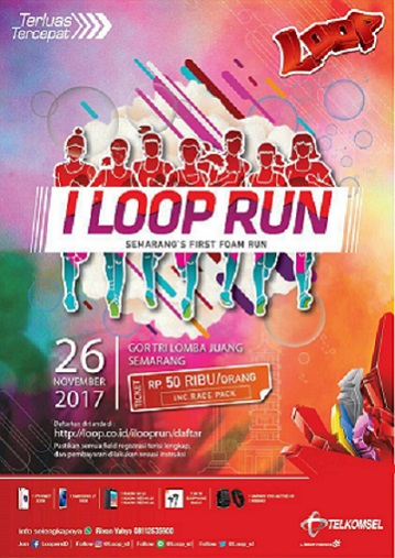 I LOOP RUN SEMARANG FIRST FOAM RUN