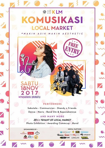 SEMARANG EVENT : KOMUSIKASI X LOCAL MARKET INCREDIBLE ART IN GREAT AESTHETIC MODE