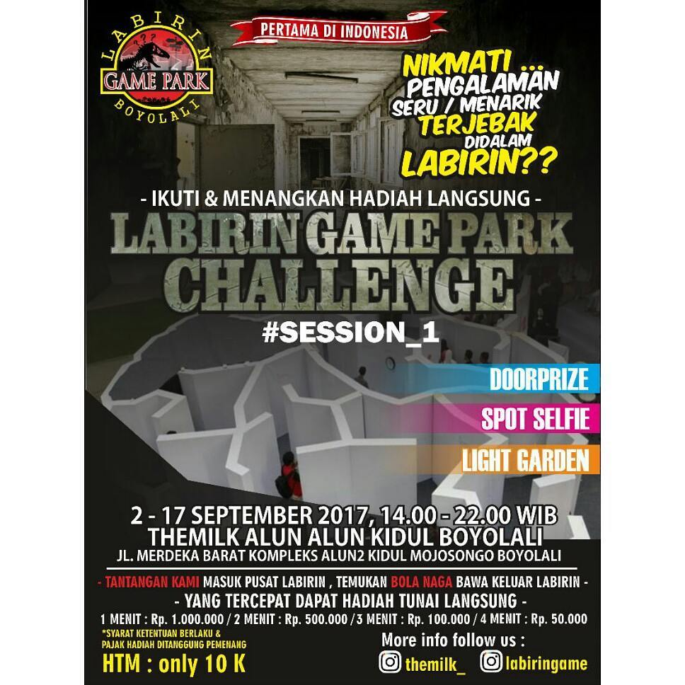 LABIRIN GAME PARK CHALLENGE SESSION 1