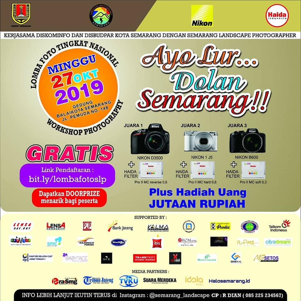 Lomba Foto Nasional Yuk Lur Dolan Semarang
