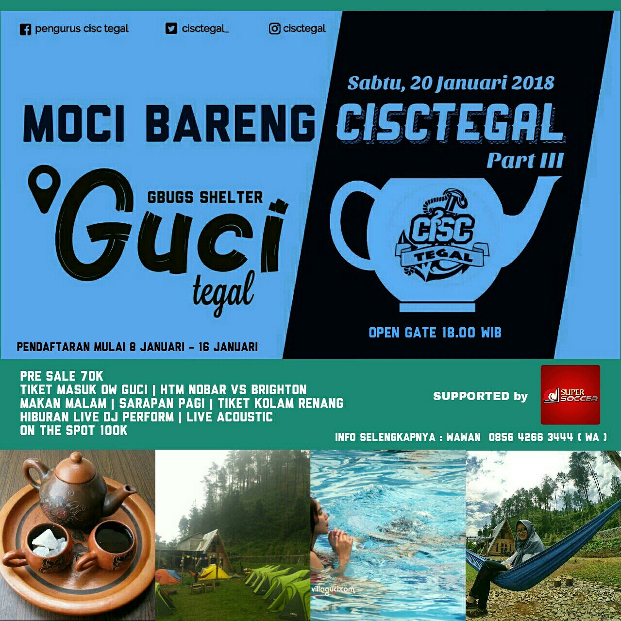 MOCI BARENG CISC TEGAL PART III