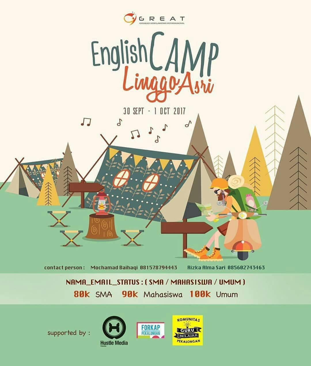 PEKALONGANEVENT - ENGLISH CAMP LINGGO ASRI