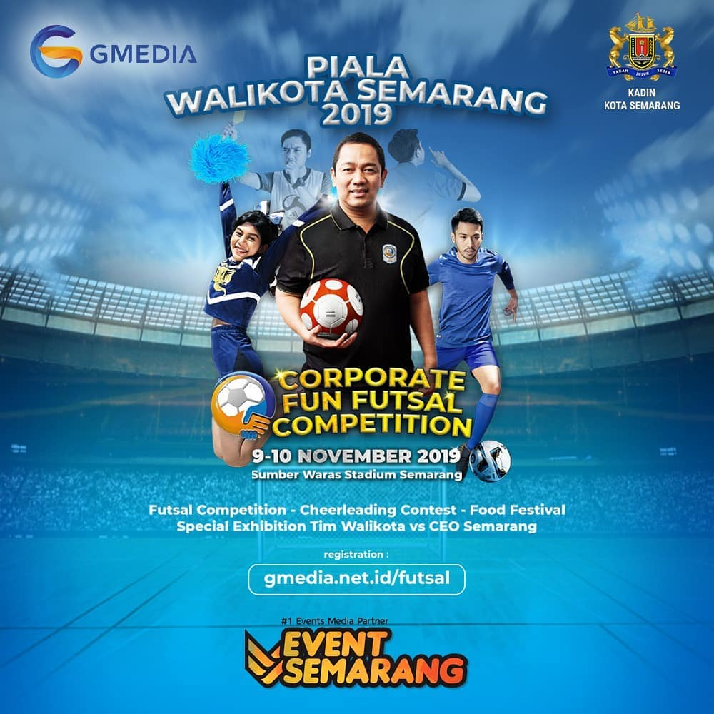 Piala Walikota 2019 : Corporate Fun Futsal Competition