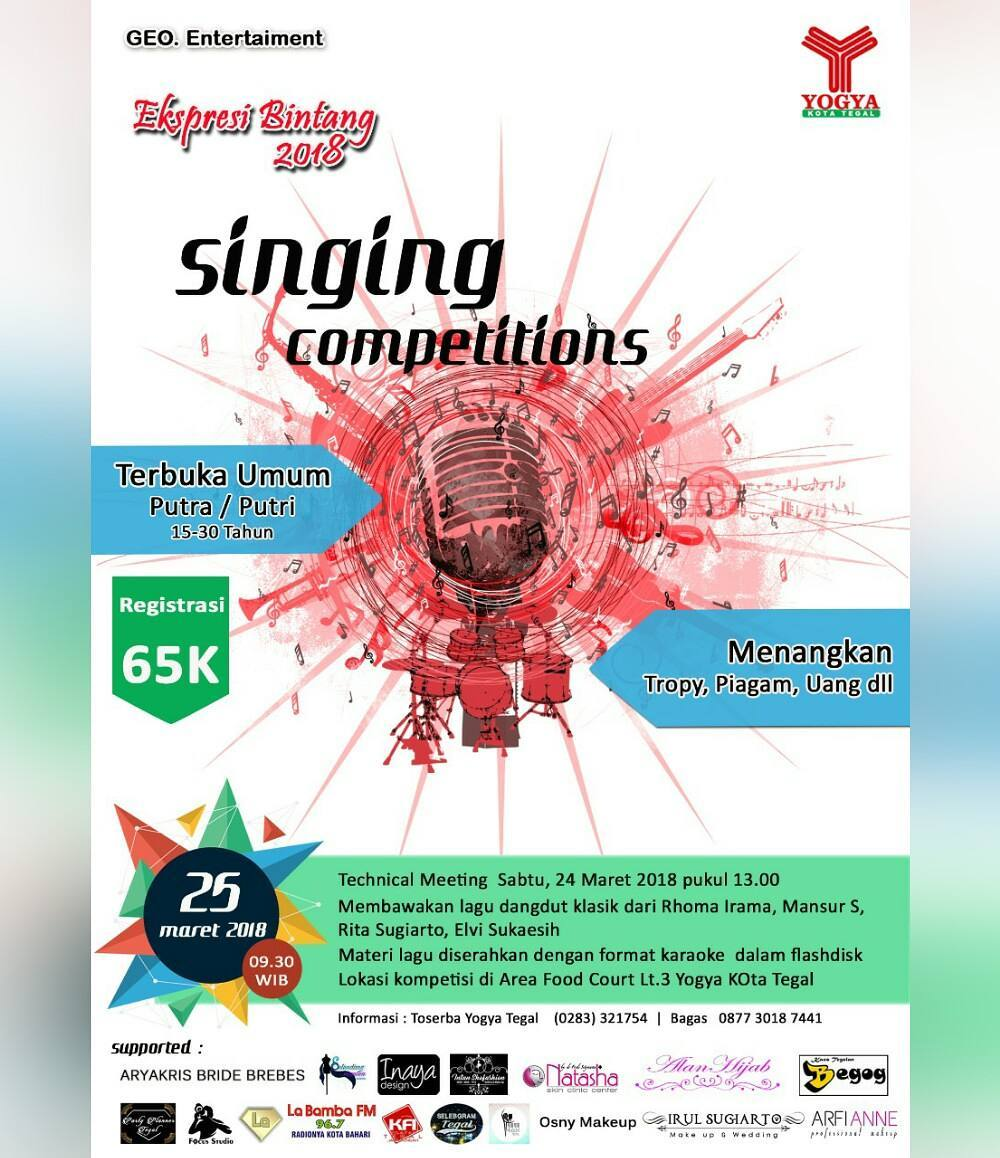 Event Tegal - Singing Competition