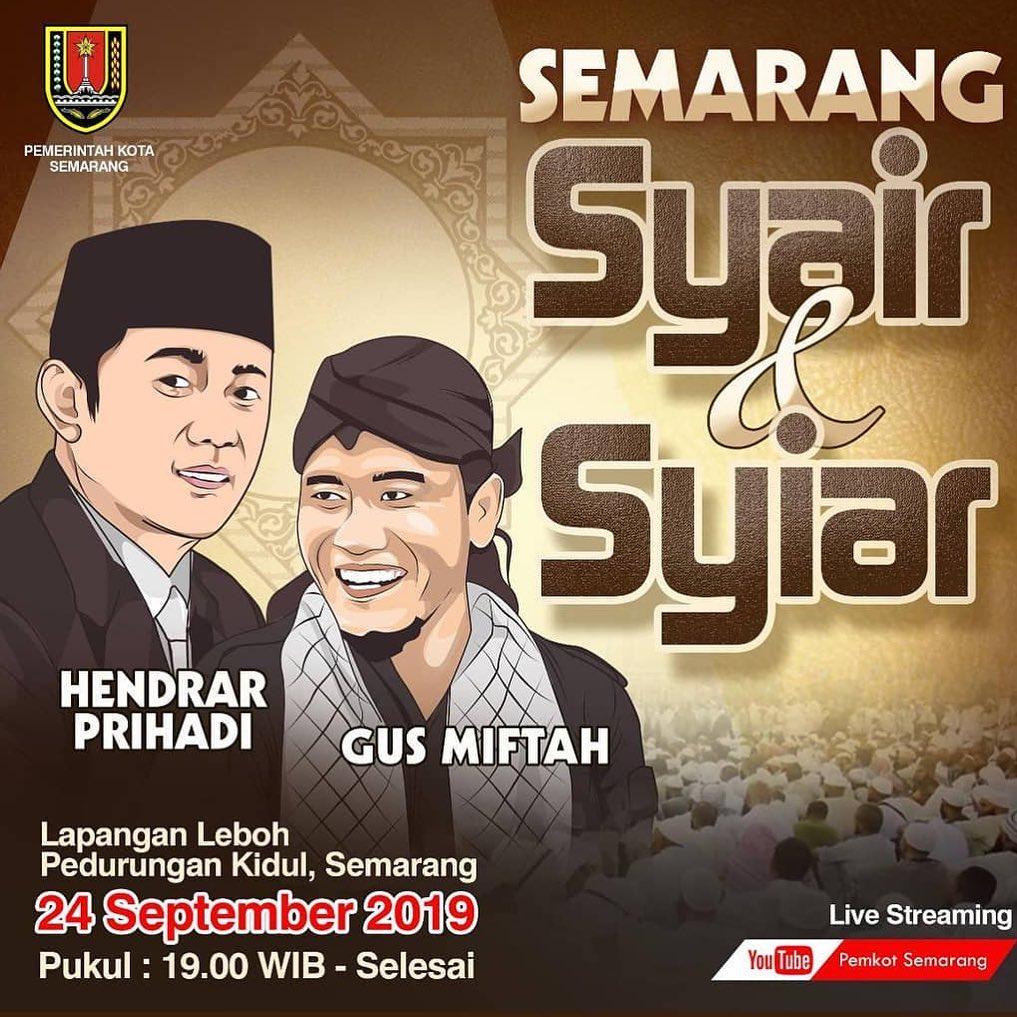 Syair & Syiar Bersama Pak Hendrar Prihadi Dan Gus Miftah