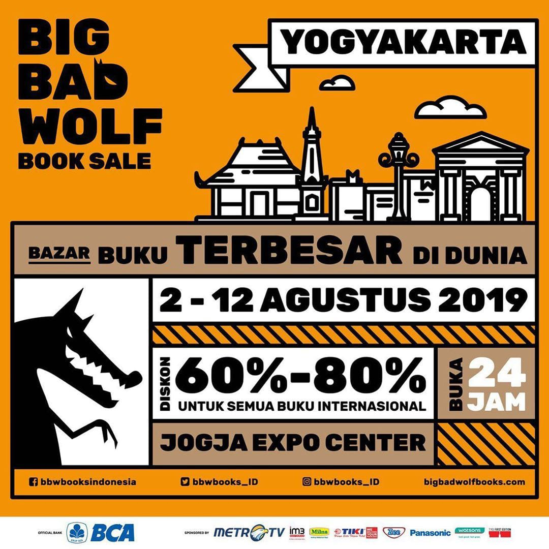 The Big Bad Wolf Book Sale Yogyakarta 2019