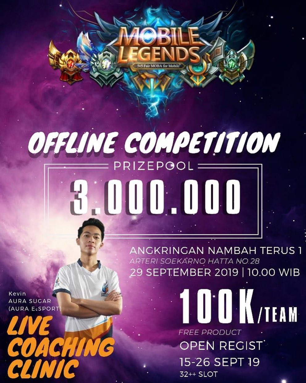 The Mobile Legends Offline Competition