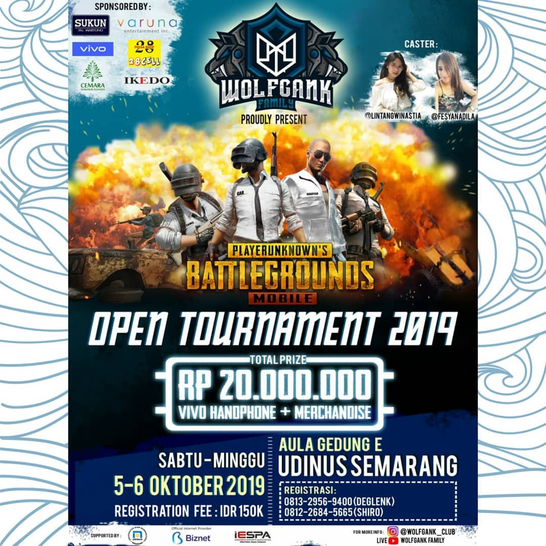 Wolfgank Open Tournament Pubgm 2019