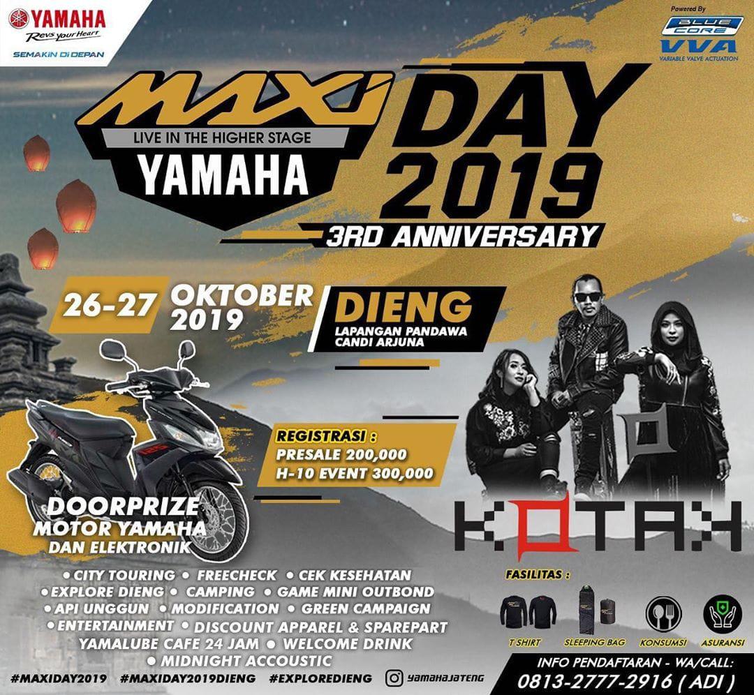 Yamaha Maxi Day 2019 3rd Anniversary