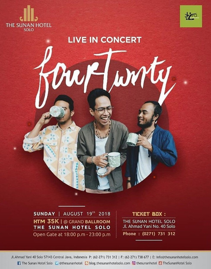 Event Solo - Fourtwnty Live In Concert