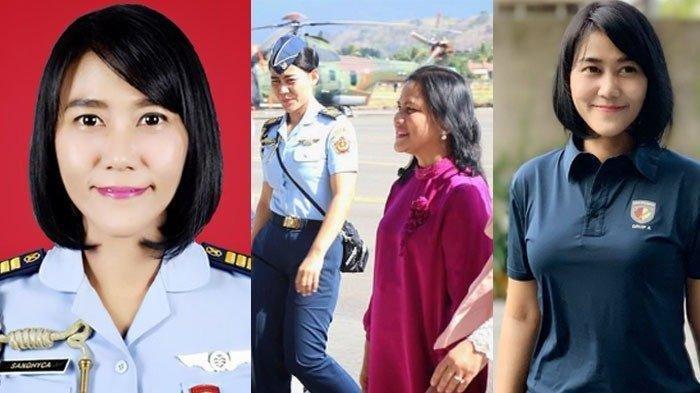 5 Fakta Ajudan Cantik Iriana Jokowi, Sandhyca Putrie