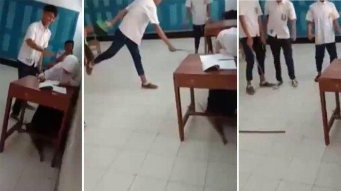 Aksi Bullying Di SMP Purworejo Yang Viral