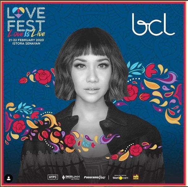 BCL Batal Tampil Di Love Fest 2020