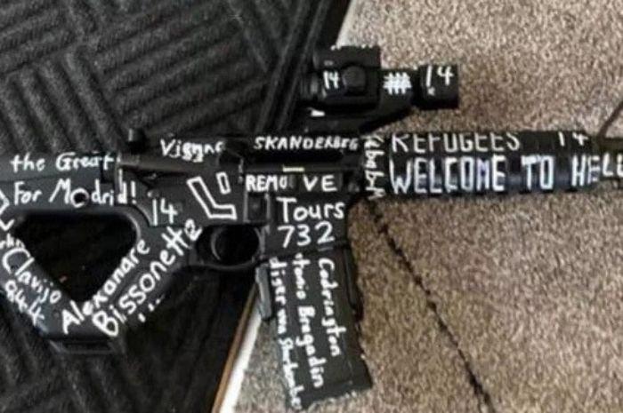 Balas Dendam Jadi Motif Penembakan Di Selandia Baru, Dengan Senjata Bertulisakan Nama-nama Teroris Dunia