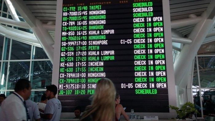 Ilustrasi menunggu pesawat