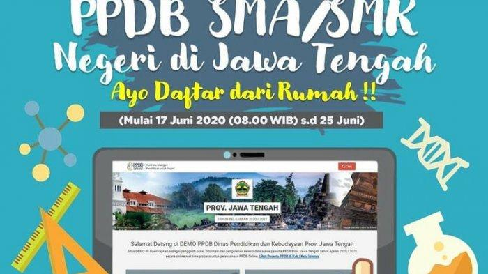 cara pendaftaran ppdb sma-smk jateng 2020