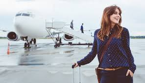 outfit on the plane with jeans