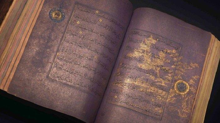 Sebuah naskah Alquran Persia abad ke-15 dijual sebagai bagian dari lelang