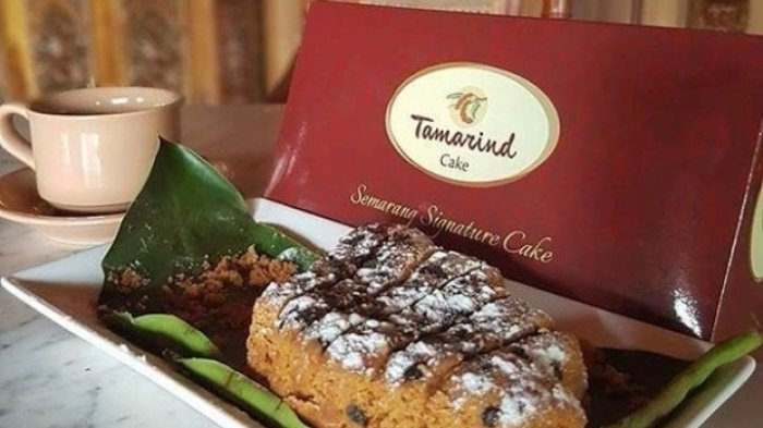 Tamarind Cake, cake asli Semarang dengan rasa unik