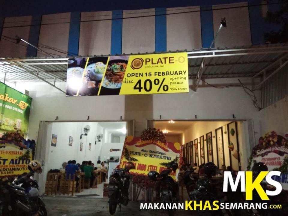Cobain Yuk Kuliner Unik Semarang, Makanan Disajikan Diatas Hotplate!