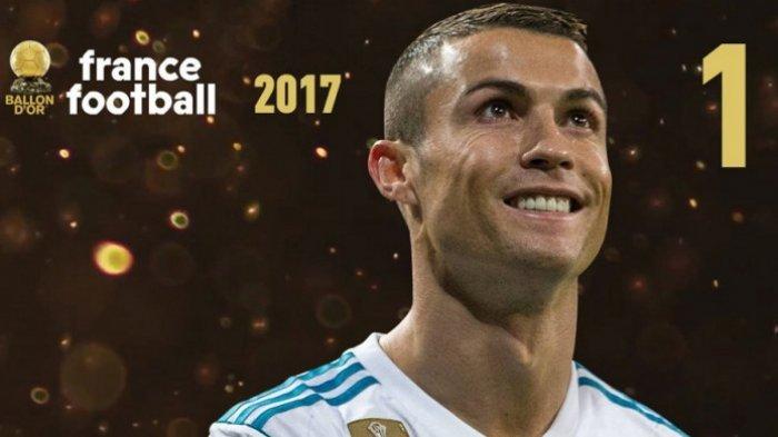 Cristiano Ronaldo Pemain Terbaik FIFA dan Ballon d'Or  Kembali Memenangi Best European Sportsperson 2017