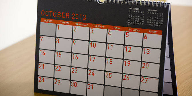 Fakta Dibalik Bulan Oktober, Yuk Ketahui!