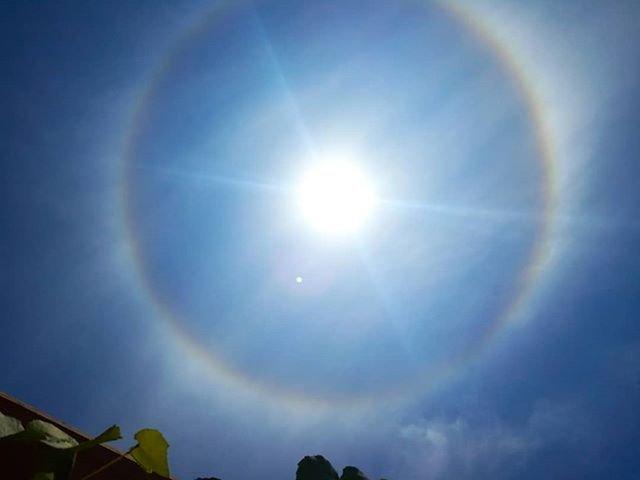 Fenomena Matahari Cincin di berbagai Daerah di Jawa Tengah