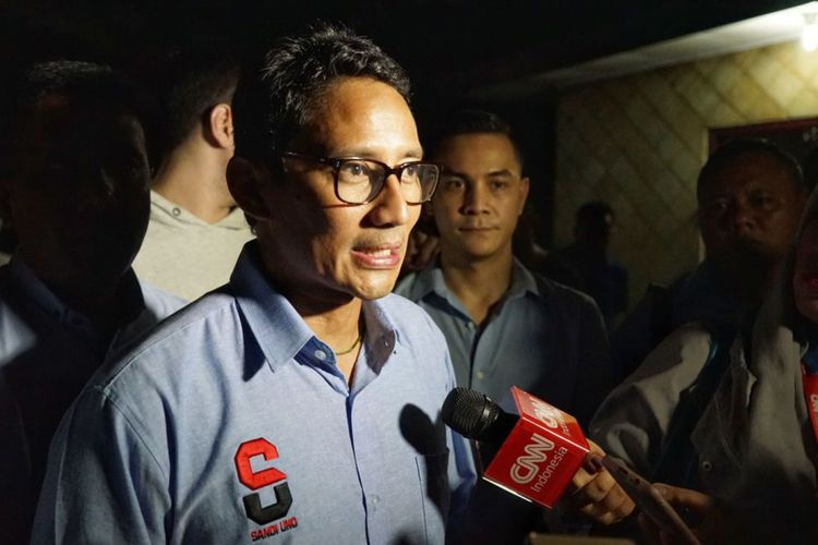 Fokus Kampanye di Jawa Tengah, Sandiaga Uno angkat isu Swasembada Pangan