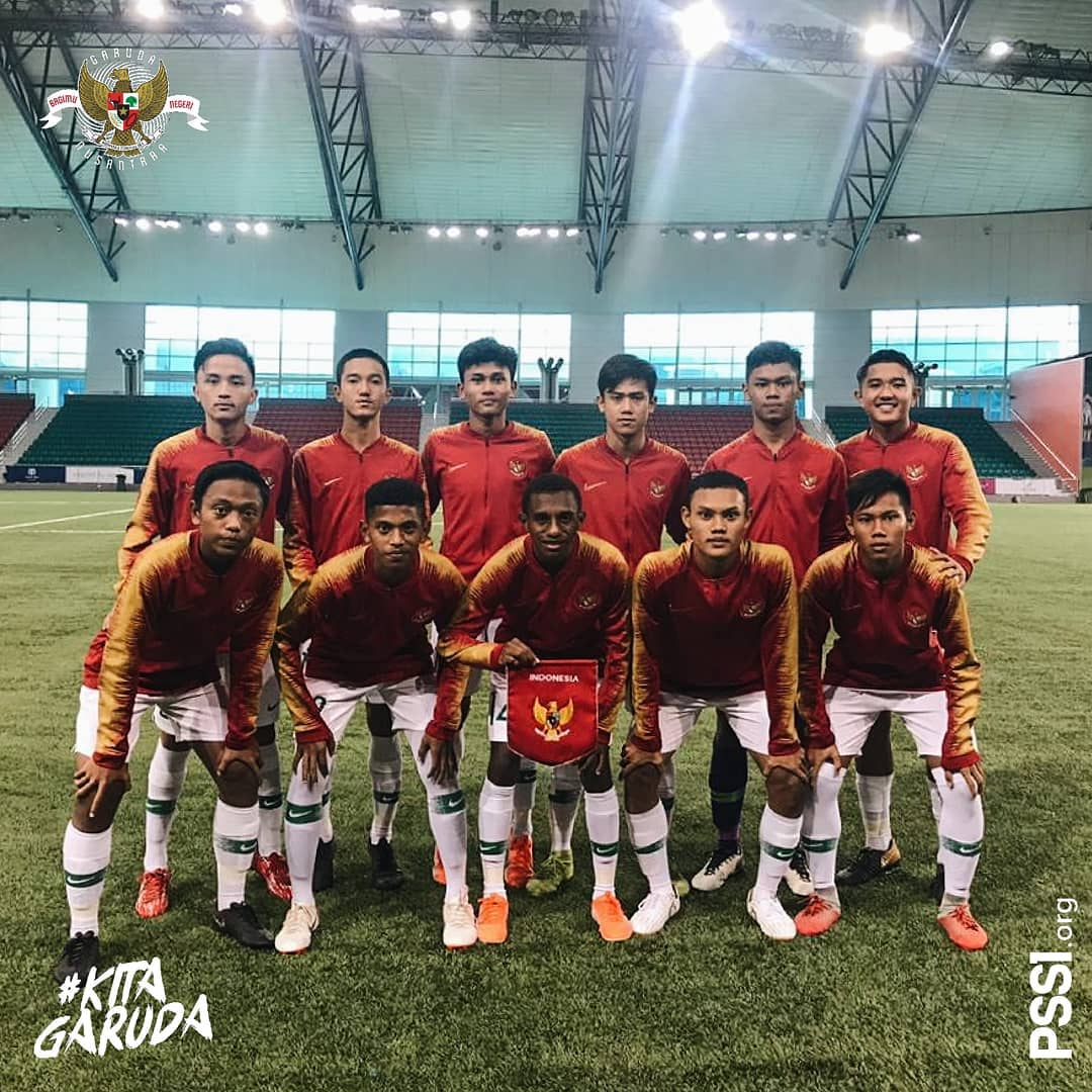 Four Nations Tournament 2019: Timnas Indonesia U-15 Libas Maladewa 4-0