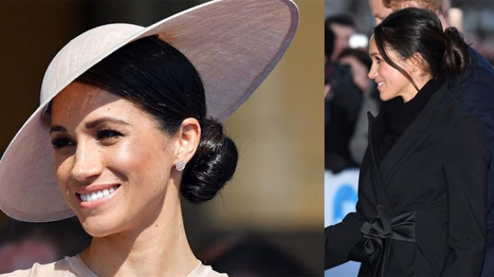 Gaya Rambut Meghan Markle Berubah Setelah Resmi Menjadi Keluarga Kerajaan Inggris