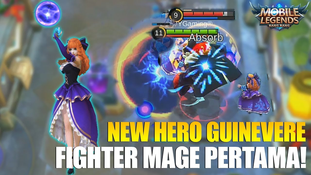 Guinevere, Hero Baru Fighter-Mage di Mobile Legends