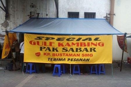 Gulai Kambing Bustaman Pak Sabar Semarang