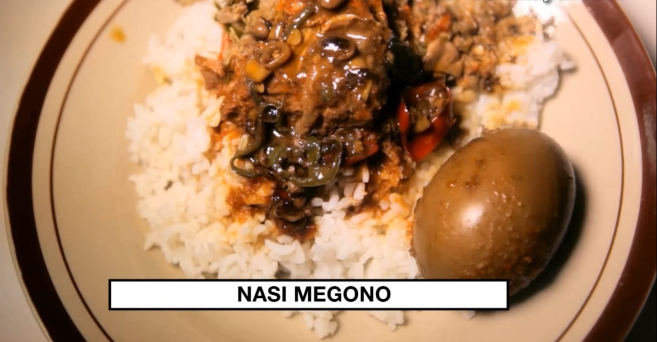 Gurihnya Nasi Megono Yang