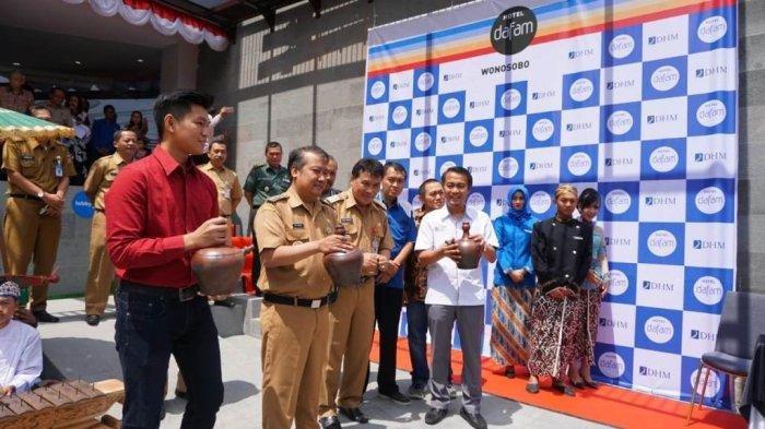 Hadirkan Suasana Ubud Bali, Dafam Resmikan Hotel di Jalan Dieng Wonosobo