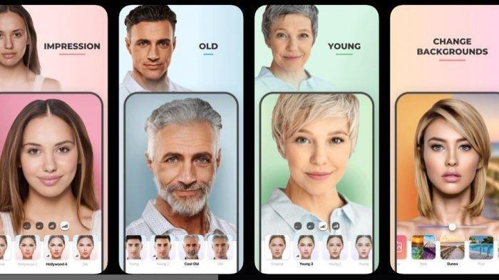 Inilah Beberapa Cara Edit Foto dengan Face App untuk Oplas Challenge yang Tengah Viral di Instagram