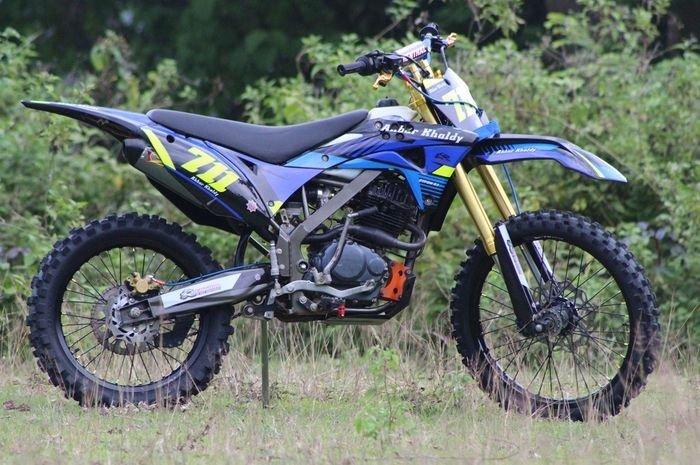 Iseng-iseng Modif Honda Tiger, Malah Jadi Motor Trail