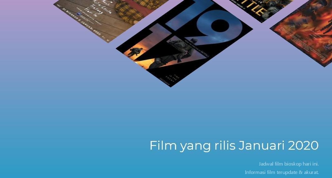 JADWAL FILM  DI SEMARANG HARI INI - JUMAT 17 JANUARI 2020