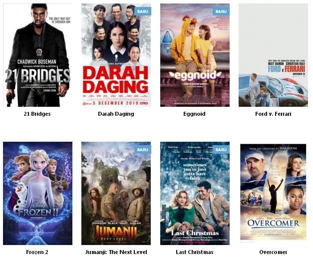 JADWAL FILM BARAT DI SEMARANG HARI INI - JUMAT, 06 DESEMBER 2019