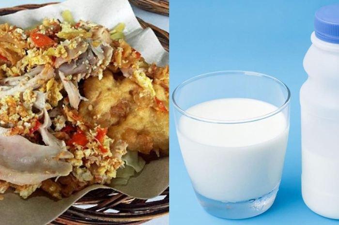 Konsumsi ayam dan susu