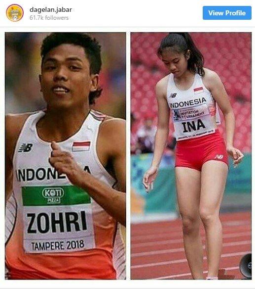 Jeany Nuraini, Sprinter Cantik Yang Tengah Viral Akan Tampil Di Asian Games 2018