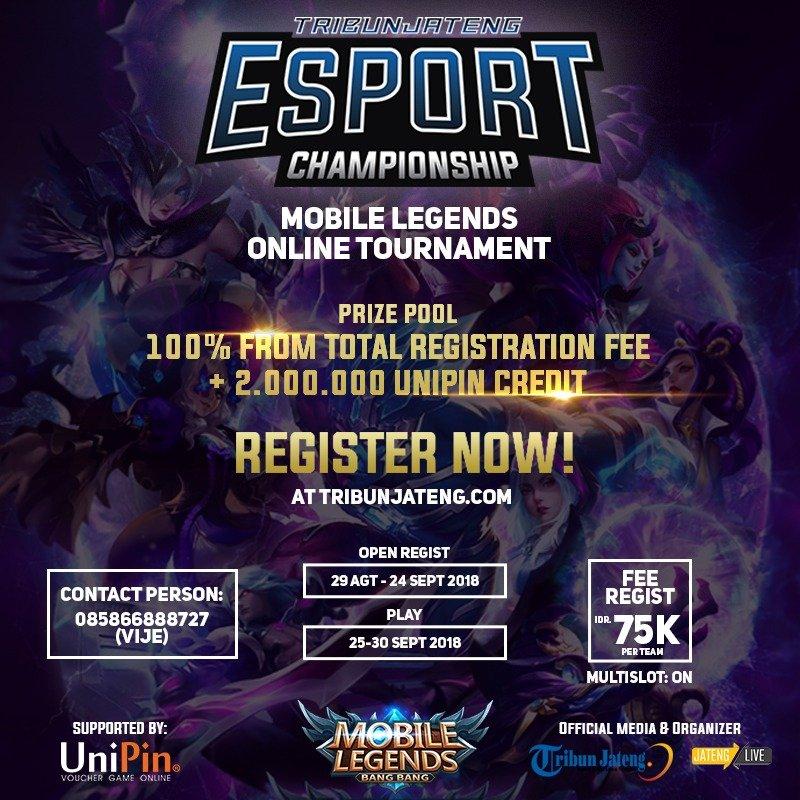 Ketentuan Tribun Jateng E-sports Championship (tjec)