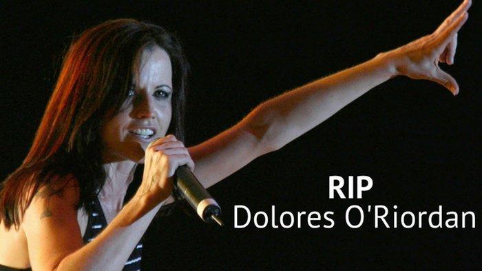 Kabar Duka!  Vokalis The Cranberries, Dolores O'Riordan Meninggal Dunia.  Berikut Fakta Kehidupannya