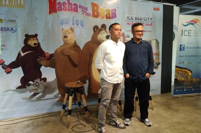 Kabar Gembira, Masha and The Bear On Ice Hadir di Indonesia!