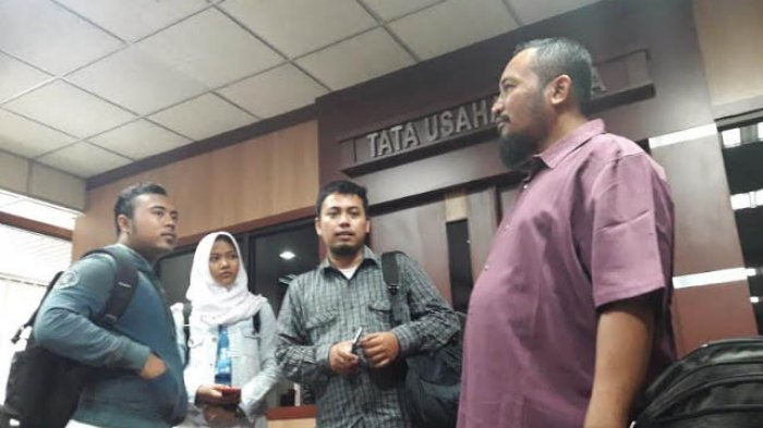 Anindya Puspita Helga Nur Fadhila Saat Berada di Kantor Setda Jawa Tengah