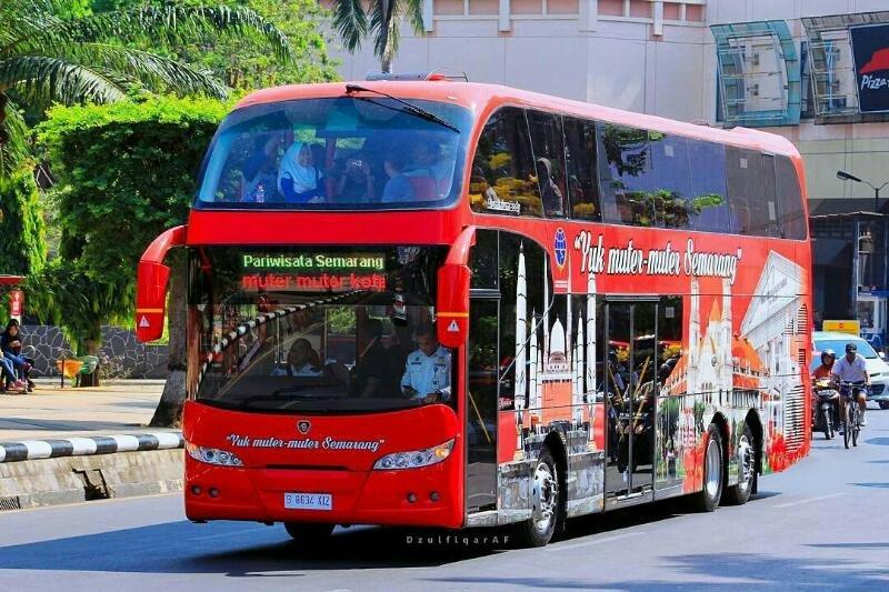 Kapan Lagi Muter-Muter Semarang Gratis? Yuk Naik Bus ini!