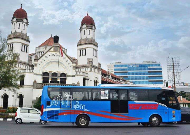 Gambar BRT Trans Semarang