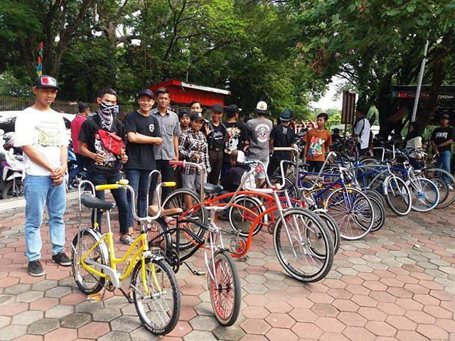 Komunitas Low Rider Semarang, Ajak Masyarakat Aktif Bersepeda